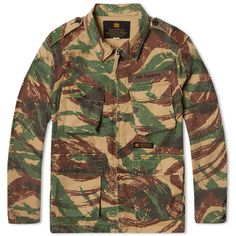 Neighborhood Denison Lizard Jacket (Camouflage)