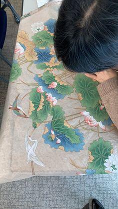 [민화]민화연화도 분당민화 /판교민화 /민화그리기 /청결함 자손번창 연화도~~ : 네이버 블로그 Water Lilies, Lotus, Pastel, Blog, Paintings, Home Decor, Lotus Flower, Cake, Decoration Home
