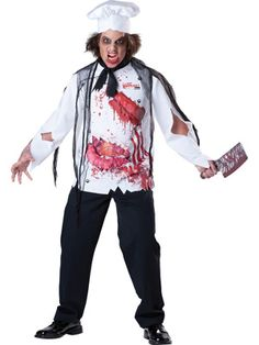ADULTS HALLOWEEN OUTFIT HORROR COSTUME VAMPIRE WITCH PSYCHO SCARY FANCY DRESS