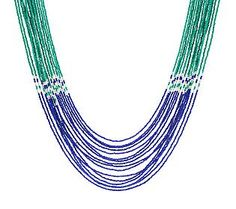 Pin to Win #SusanGraver Sweepstakes! {Nested Multi-Strand Seed Bead Necklace}