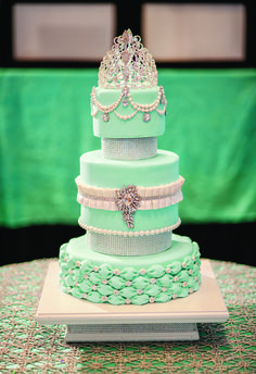 22 Awesome turquoise quinceanera cake