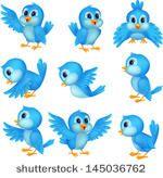 65 Ideas cartoon blue bird tattoo clip art for 2019 Cartoon Birds, Funny Birds, Cute Birds, Cute Cartoon, Vogel Clipart, Bird Clipart, Bird Drawings, Cartoon Drawings, Cartoon Images