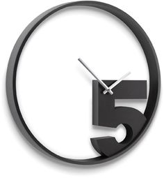 take-5-wall-clock. Pinned to F O R . T H E . H O M E