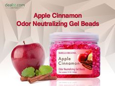Apple Cinnamon - Odor Neutralizing Gel Beads.  More Air Fresheners - http://dealtz.com/Cleaning-Supplies/Air-Fresheners