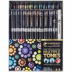 """manonscrap   Cartes ... Crayons Chameleon    Bonjour     Aujourd'hui je vais vous parler d'un coup de cœur à moi """"les crayons CHAME..."""