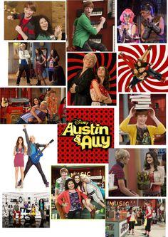 I love Austin & Ally ! Disney Channel Shows, Disney Shows, Just Add Magic, Austin Moon, Luke Benward, Raini Rodriguez, Bridgit Mendler, Austin And Ally, Disney Love