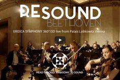 Resound Beethoven goes Virtual Reality heißt es auf der #klangBilder 16 - Lassen Sie sich überraschen ... Concert, Movies, Movie Posters, Music, Photo Illustration, Film Poster, Recital, Films, Popcorn Posters