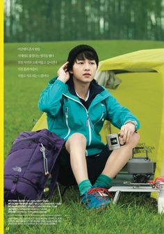 Song Joong Ki for The North Face 2013 White Label Collection