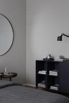 Montana storage by Peter J. Lassen from Montana Furniture Interior, Interior Inspiration, Home, Decor Design, Blue Bedroom Colors, Bedroom Interior, House Interior, Bedroom Inspirations, Home Decor Tips