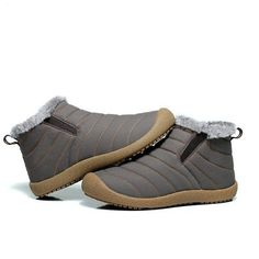 With warm and comfortable features, Slip On Warm Boots is one of the most popular boots in the cold weather. Slip On Outdoor Boots is suitable for men and women. Warm Boots, Men's Boots, Babys, Fashion Shoes, Slip On, Sandals, Cute Flats, Gray, Men Boots