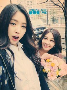 Naeun and Eunji Snsd, South Korean Girls, Korean Girl Groups, Eunji Apink, Kpop Girl Bands, Bubblegum Pop, Pink Panda, The Most Beautiful Girl, Ulzzang Girl