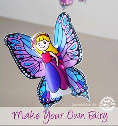 Repülő tavasztündérek wc papír gurigából - nyomtatható / Mindy -  kreatív ötletek és dekorációk minden napra