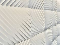 NEW YORK DESIGN WEEK 2013: THE WRAP UP! Keiou Design Lab debuted their new 3-dimensional interior wall panel collection made from Dalpi (a pourable stone made from fine grained pure white jade and other natural minerals).