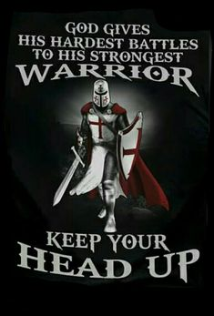 God gives His hardest battles to His strongest Warrior Christian Warrior, Christian Life, Christian Quotes, Warrior Quotes, Prayer Warrior, Bible Scriptures, Bible Quotes, Faith Quotes, Holy Quotes