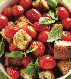 Grilled Tomato Panzanella