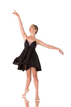 Slow Modern Dress - Diamond Dance Costume - Lyrical Dress