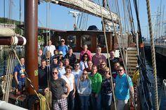 Die Teilnehmer am Implico-Segel-Event 2014
