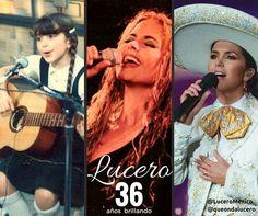 Estamos de fiesta! Celebramos los 36 años de vida artística de nuestra admirada #LUCERO! 36 años de entrega de pasión por la excelencia de reconocimientos de éxitos y de alegrías en nuestras vidas con sus canciones con sus telenovelas con todo su arte...  Qué les ha dado a ustedes Lucero en estos años de trayectoria? Cuántos de estos 36 años la han acompañado y por qué?  Felicidades LUCERO! Que sigas brillando estrella!  #Lucero36 - http://ift.tt/1HQJd81