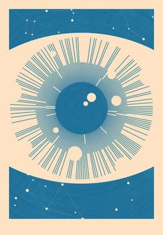 Astronomical Eye by Simon C Page #round