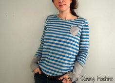 Self Care Sewing: an Ottobre top