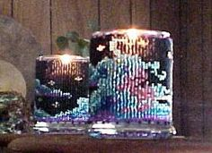 Beaded Wind Candle Holder Pattern and Kit. (Click on the picture to see this item on our website). $17.95