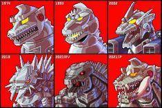 All Godzilla Monsters, Godzilla Comics, Monster Hunter Series, Monster Hunter World, Creature Concept Art, Creature Design, Anime Male Face, Eevee Comic, Godzilla Wallpaper