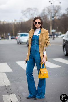 Danielle We Wore What Street Style Street Fashion Streetsnaps by STYLEDUMONDE Street Style Fashion Blog