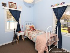 Don't you just love Florence's room @ 27 North Parade, WAGGA WAGGA - Fitzpatricks Real Estate Wagga Wagga #fitzre #fitzgallery #fitzgalleryKids