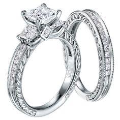 Scott Kay engagement rings! LOVE this set!