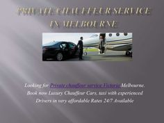 Are you Looking for an easy way to book a private chauffeur in Melbourne? We are a luxury taxi alternative. Book now and get best experienced/punctual Chauffeur Service in Melbourne/Victoria. #chauffeurservicemelbourne #melbourneprivatechauffeurservice #melbournechauffeurcarservice #taxichauffeurservice http://www.slideshare.net/vhalimos/private-chauffeur-car-melbourne