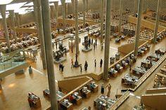 Alexandria library Egypt مكتبة الاسكندرية مصر