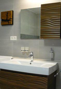 Vawe wooden bathroom Wooden Bathroom, Bathrooms, Sink, Home Decor, Wood Bathroom, Sink Tops, Vessel Sink, Decoration Home, Bathroom