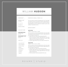 resume template and cover letter template for word diy printable 3 pack mac or