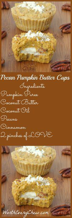 Pecan Peanut Butter Cups