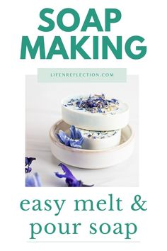 Easy Melt and Pour Soap Making Soap Making Recipes, Soap Recipes, Glass Measuring Cup, Jasmine Essential Oil, Soap Supplies, Oatmeal Soap, Soap Base, How To Preserve Flowers, Soap Molds