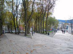 Paseo del Arenal. Antiguamente dividido en tres paseos, el de los curas, el de la@s señori@s y el de la alpargata.