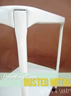 Painting Over Rusted Metal