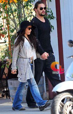 Jason Momoa and wife Lisa Bonet