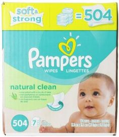 Pampers Natural Clean Wipes 7x Box 504 Count   for more Detail visit our website: http://premiumhealthproducts.com/