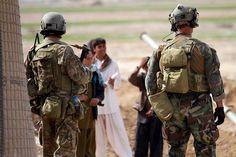 US Marine Raiders in Afghanistan
