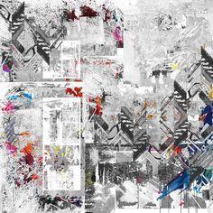 Are you alright / geometric art/ abstract art /contemporary art/ modern art/ urban art / street art / digital collage /