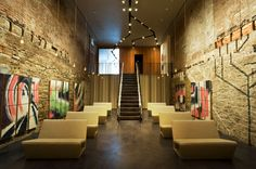 Studio Dror Converts Old NYC Gucci Store into Stylish Soho Synagogue Synagogue Architecture, Sacred Architecture, Interior Architecture, Interior Design, Jewish Temple, Gucci Store, World Religions, Place Of Worship, Green Building