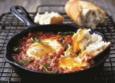breakfast-and-brunch Recipes & Food Ideas - The Chew The Chew Recipes, Egg Recipes, Brunch Recipes, Cooking Recipes, Breakfast Dishes, Breakfast Time, Breakfast Recipes, Italian Breakfast, Table D Hote