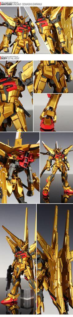 ORB-01 Akatsuki Gundam Oowashi & Shiranui