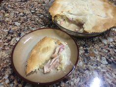 Chicken, Ham, and Leek Pie Wednesday, March 11, 2015