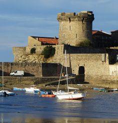 Socoa, Ciboure, Labourd Basque country, Aquitaine FRANCE pais vasco, francia