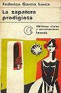 Federico Garcia Lorca: La zapatera prodigiosa - Libro Usado