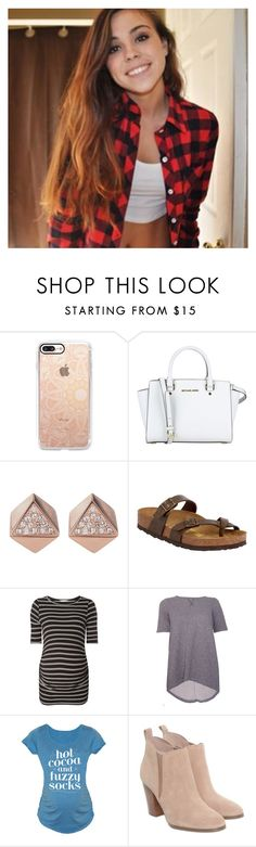 """""""some things I want for christmas- zara"""" by secondsofanons ❤ liked on Polyvore featuring Casetify, MICHAEL Michael Kors, FOSSIL, Patagonia, Birkenstock, Dorothy Perkins, Isabella Oliver, Michael Kors and Christian Louboutin"""