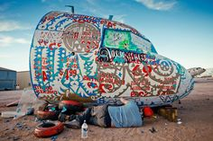 The Boneyard Project Resurrecting Planes Through Art
