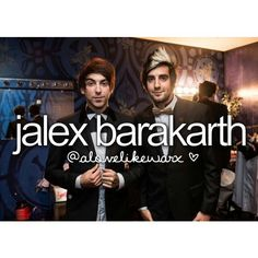 Jalex Barakarth ♡ I ship this so hard!!!
